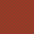 Vintage Retro seamless pattern.  Red background abstract. Vector