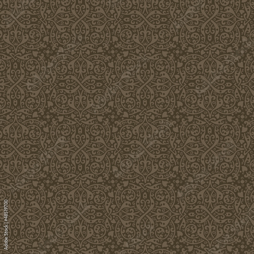 Vintage Floral seamless pattern. Retro background abstract.