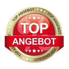 top angebot button rot