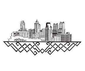 Philadelphia, PA Skyline