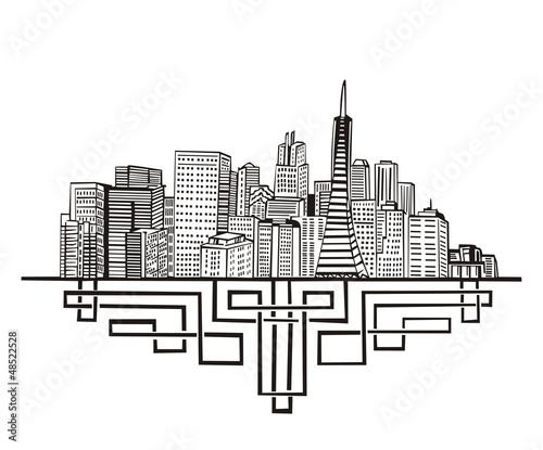 San Francisco, CA Skyline