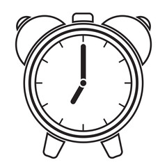 Vector illustration of alarm clock