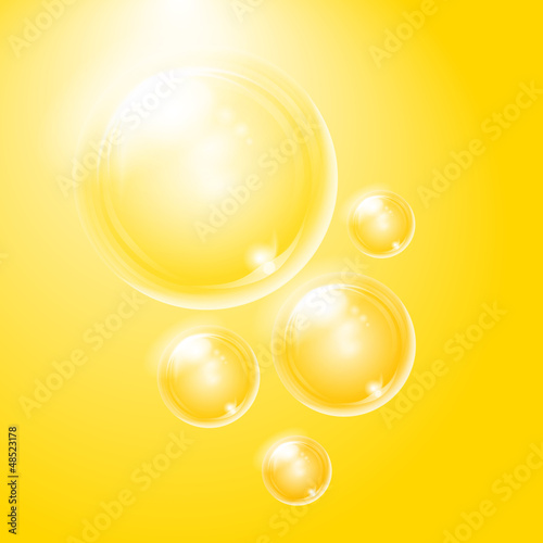 Soap bubbles. Background can be easy changed