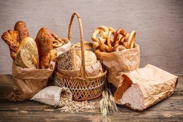 Various fresh baked goods