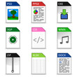 Dateitypen Iconset #1