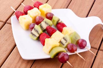 fruit kebab
