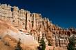 Wall of windows at Bryce Canyon National park - Utah, USA