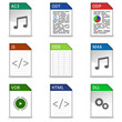 Dateitypen Iconset #3