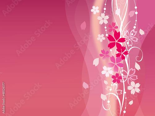 桜ピンクポスター