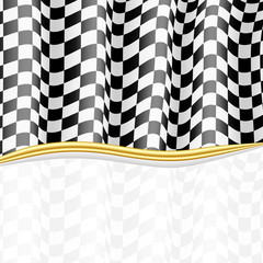 Racing Background. Checkered Flag. Vector eps10