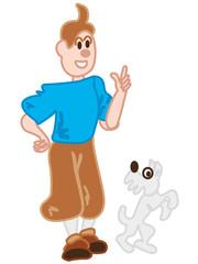 I want to look like Tintin