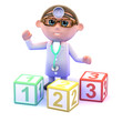 Doctor prescribes maths lessons for all
