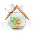Aquarium home