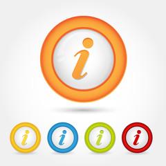 Bottone Gomma Info