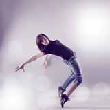 Fototapeta sport - dziewczynka - Poza Pracą / Sporty