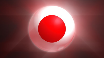 Japan Globe Flag