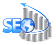 SEO - Search Engine Optimization with arrows