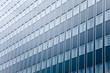 Glasfassade eines Hochhauses - Bank