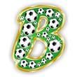 B -FOOTBALL  LETTER