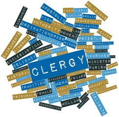Word cloud for Clergy