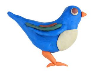 Plasticine bird
