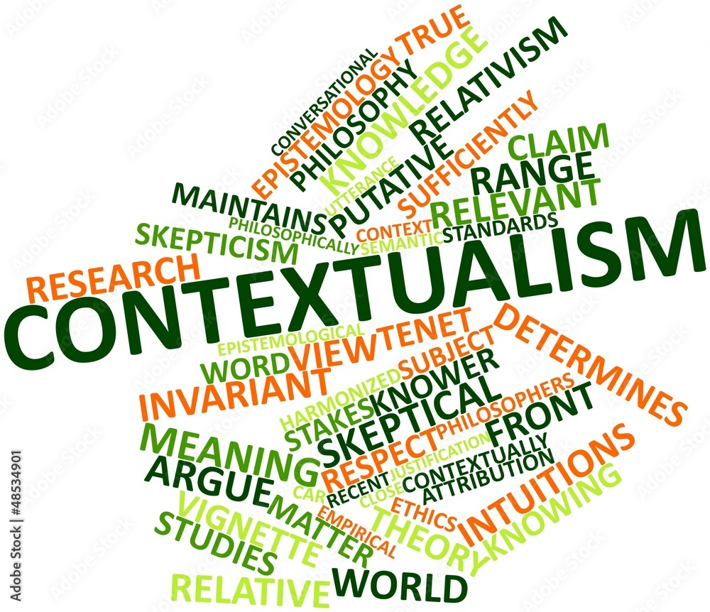 skepticism contextualism in epistemology essay Skepticism and contextualism and it is largely for this reason that contextualism has gained center stage in epistemology 2 skepticism find new research.
