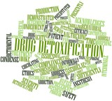 Word cloud for Drug detoxification