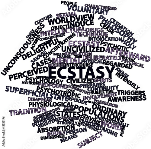 Word cloud for Ecstasy