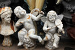 Angels at the flea market. Paris, France.