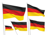 Germany vector flags