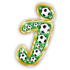 i -FOOTBALL  LETTER