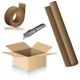 Relocation Packing Supplies poster