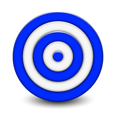 Vector Illustration of 3d target
