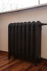 Cloudy home - vintage radiator