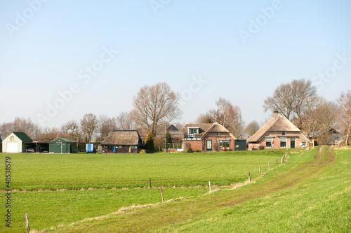 Agricultural landscape in Holland
