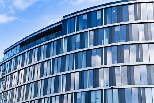 modernes Bürogebäude - Frankfurt