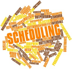 Word cloud for Scheduling
