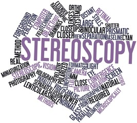 Word cloud for Stereoscopy
