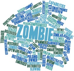 Word cloud for Zombie
