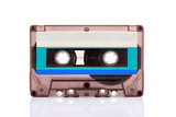 Compact Cassette isolated on white