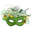 Carnival Mask Abstract Nature-Maschera Natura Astratta