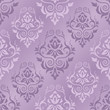 Vector illustration of damask pattern