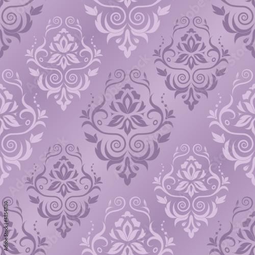 Vector illustration of damask pattern