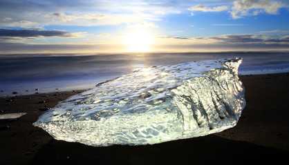 Iceburg Sunset