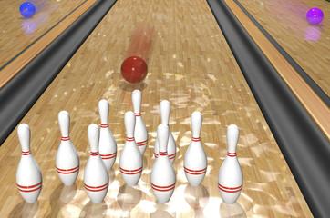 Bowling.3d rendr
