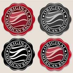 Original American Bacon Seal/ Badge