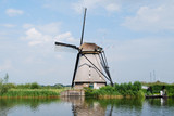 Windmill in Kinderdijk - Holland