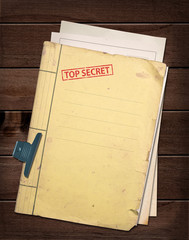 top secret file.