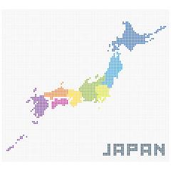 ドット日本地図