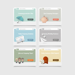 Design elements:concept icons